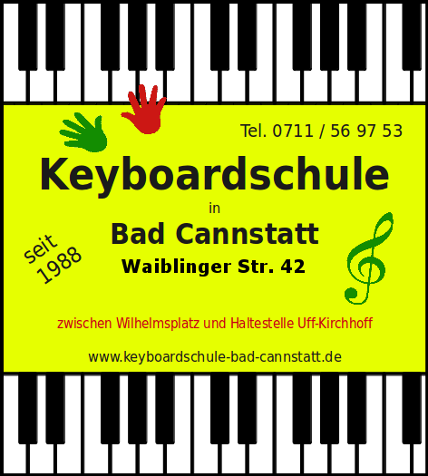 Keyboardschule Bad Cannstatt
